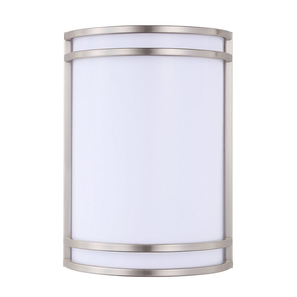 Cloudybay LED Indoor Wall Sconce Light 7-inch 15W Brushed Nickel 3000K__title
