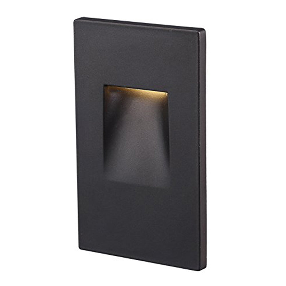 Cloudybay LED Step/Stair Light Vertical 3W Oil Rubbed Bronze 3000K__title