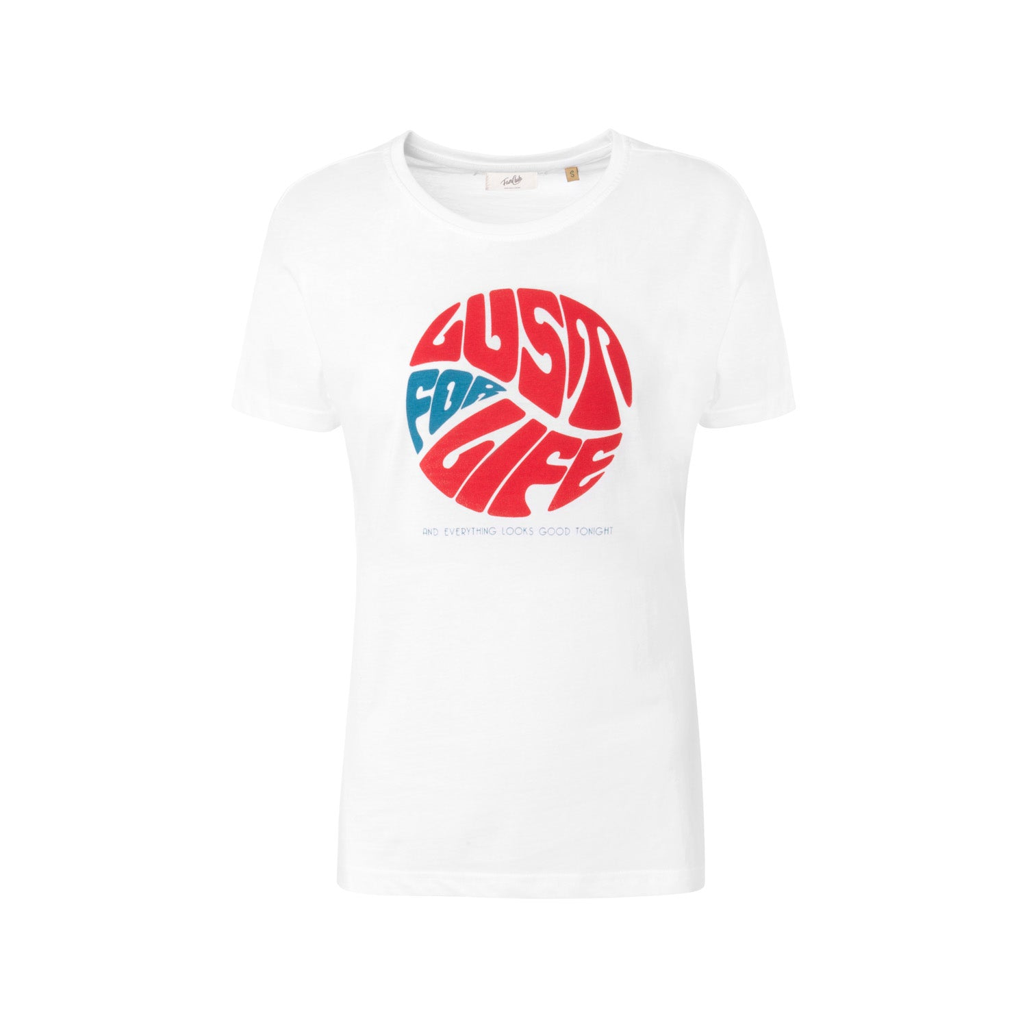 Lust for life retro slogan t-shirt