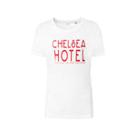 Fanclub Mind Charity Chelsea Hotel sustainable retro slogan t-shirt