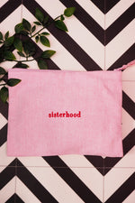 The sisterhood accessory pouch - Pink