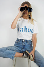 Taboo retro slogan t-shirt