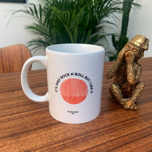 Rolling Stones It's Only Rock N Roll (But I Like It) Retro Ceramic Mug