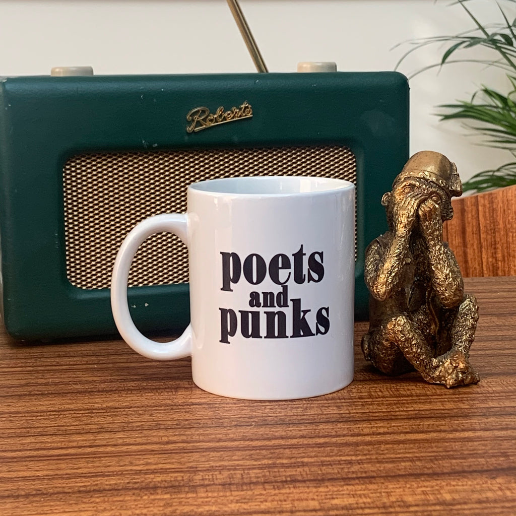 Poets & Punks Retro Ceramic Mug