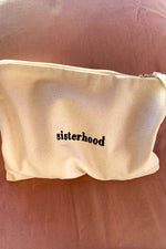 The sisterhood accessory pouch - Natural