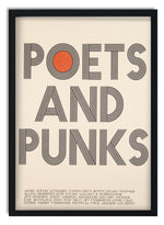 Poets and Punks Art print