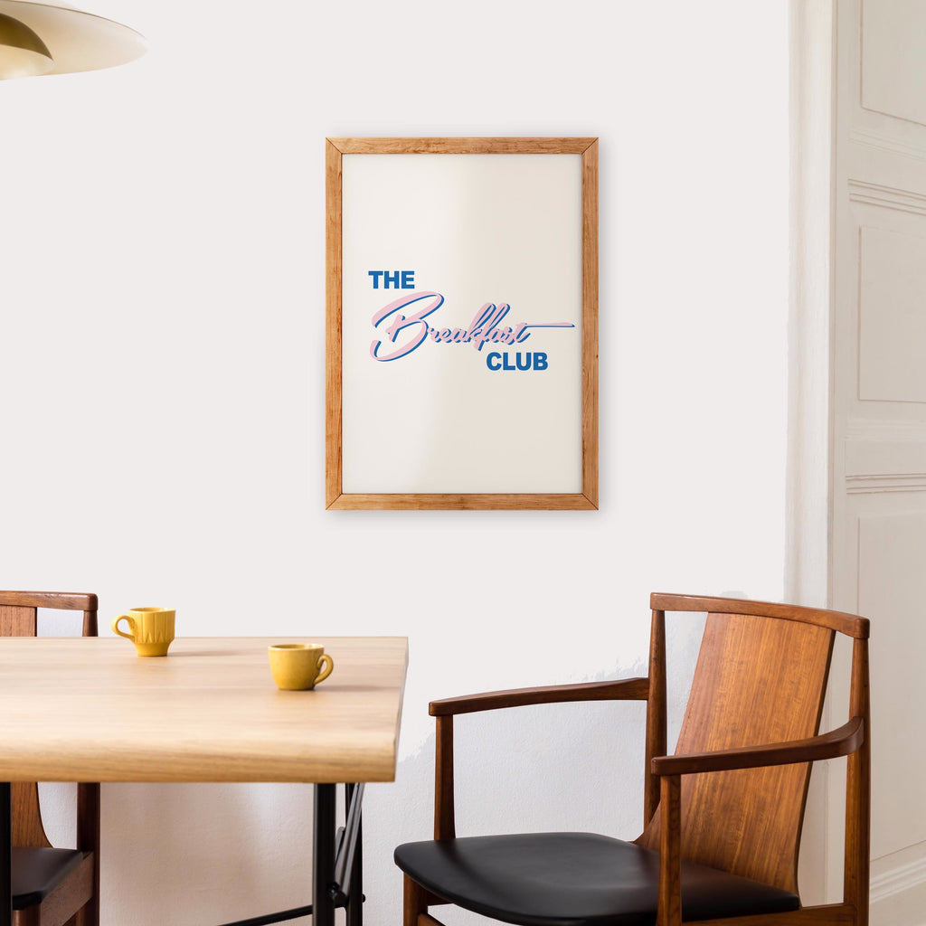 The Breakfast Club Retro A3 Art Print