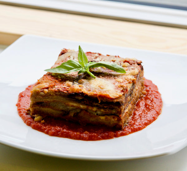 Parmigiana aubergines - Single portion