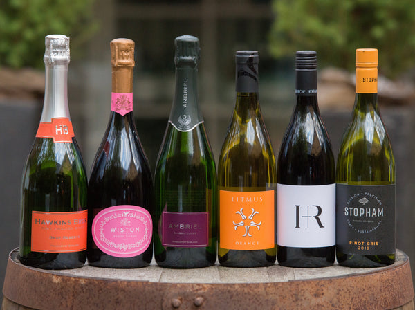 Hawkins Bros Fine English Wines English Vineyard Club - a specially curated selection of English wines delivered every 3 months