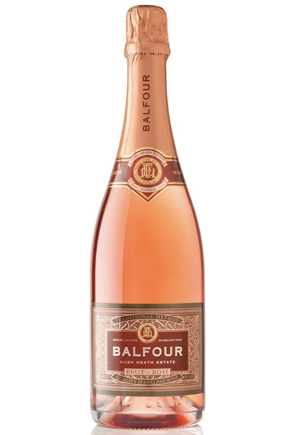 Hush Heath Balfour Brut Rosé 2013 - Hawkins Bros. Fine English Wines