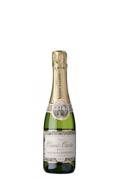 Court Garden Classic Cuvée English sparkling wine half bottle