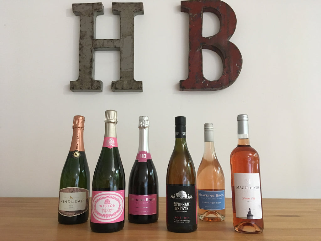 Late Summer Rosé Mixed Case only £115 including FREE next day delivery! - Hawkins Bros. Fine English Wines