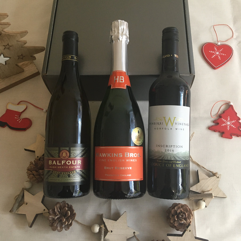 Festive Mixed Cases of English Wine - Hawkins Bros. Fine English Wines