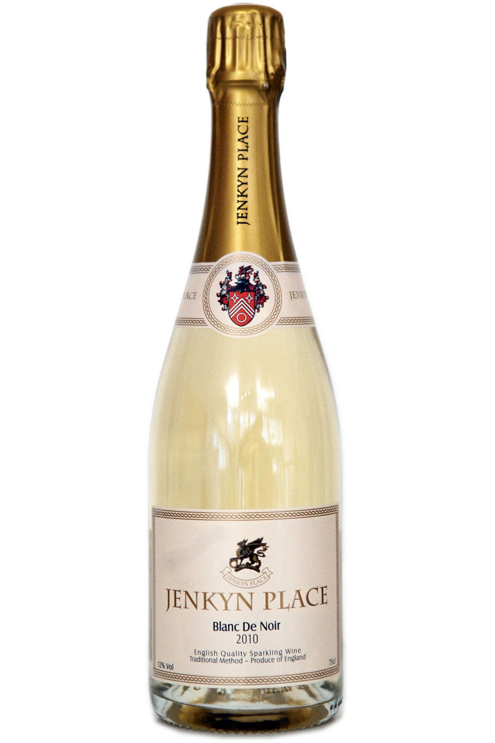 Jenkyn Place Blanc de Noir 2010 - Hawkins Bros. Fine English Wines