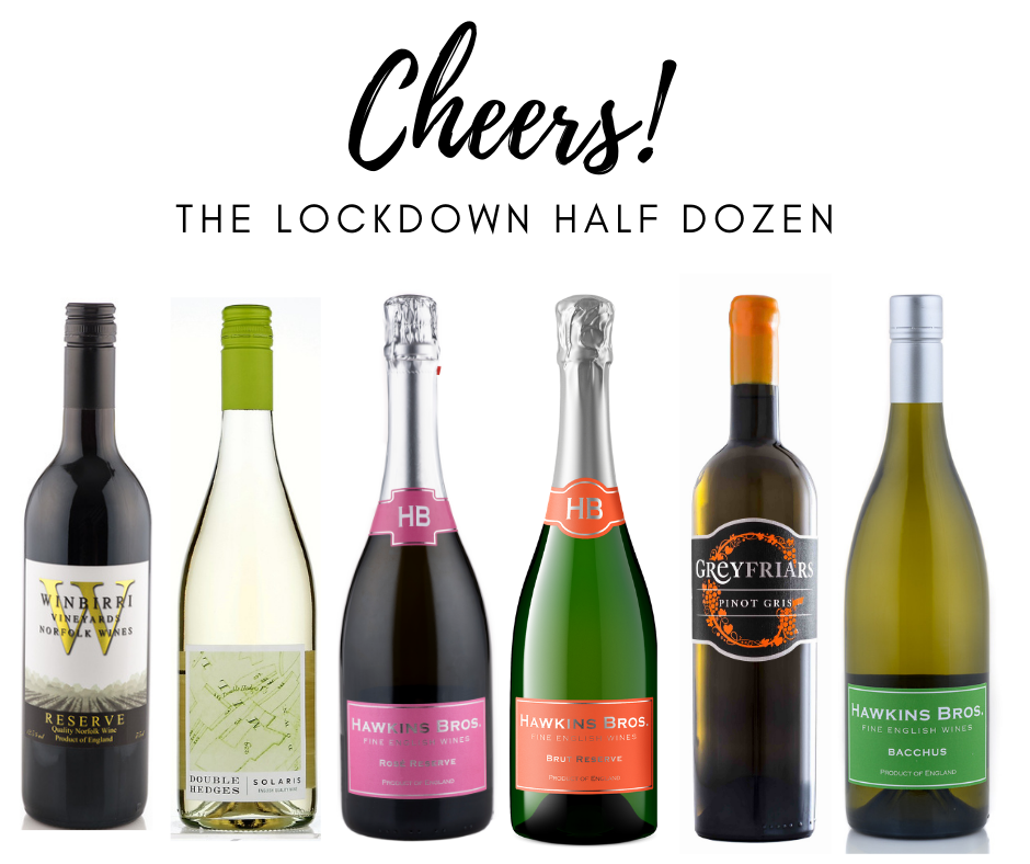 The Lockdown Half Dozen -  normally £118, now £110 with FREE delivery - Hawkins Bros. Fine English Wines