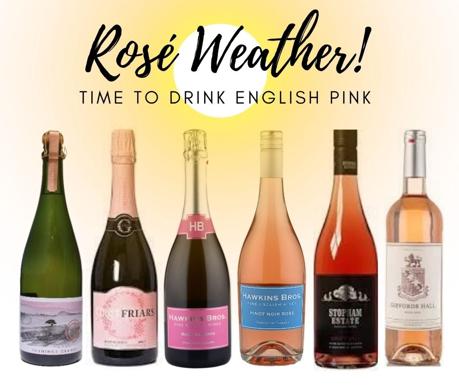 English Summer Rosé Mixed Case - Hawkins Bros. Fine English Wines