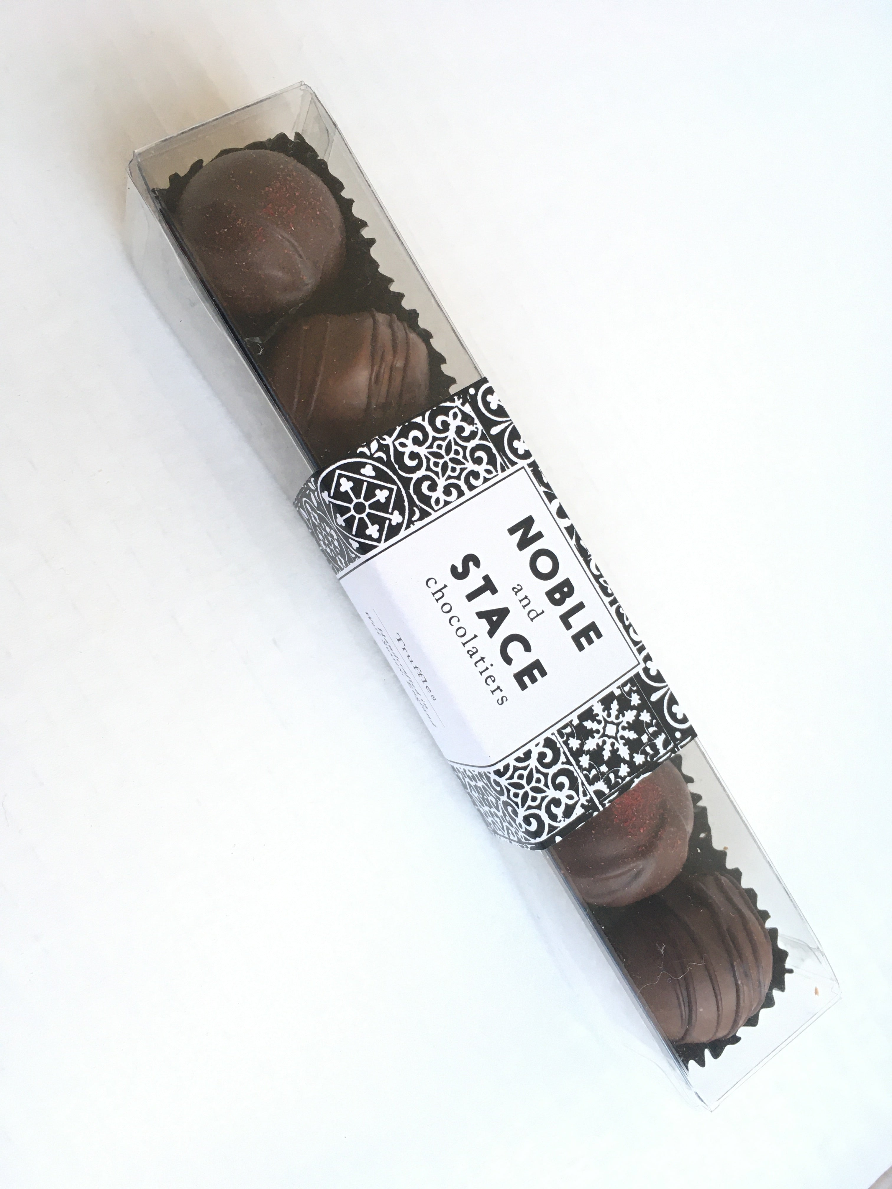 Noble & Stace English Sparkling Wine Chocolate Truffles - Hawkins Bros. Fine English Wines
