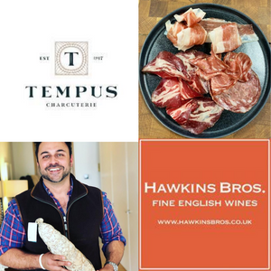 Tempus Charcuterie Virtual English Wine Pairing Evening 11th September - Hawkins Bros. Fine English Wines