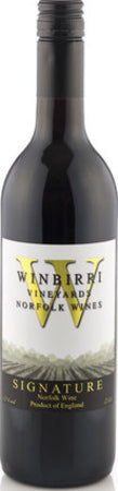 Winbirri Signature English red wine