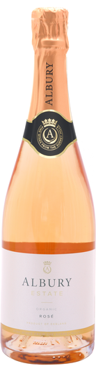 Albury Organic Estate Lansdowne Rosé 2018 - Hawkins Bros. Fine English Wines