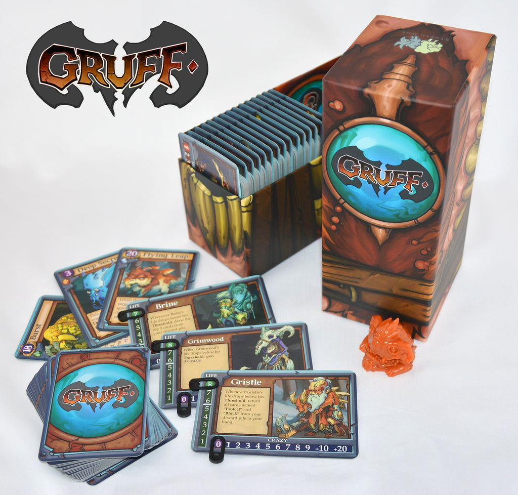 Gruff: The Tactical Card Game of Mutated Monster Goats