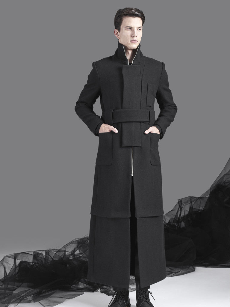 Long Straight Coat