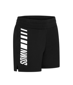 SDMN Black Lounge Shorts