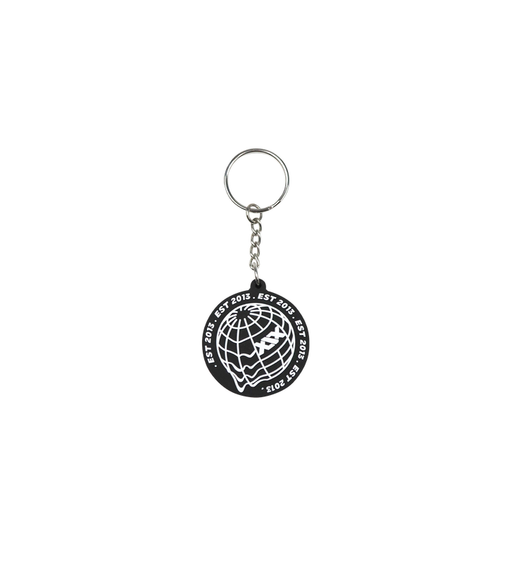 XIX WORLD Globe Key Ring