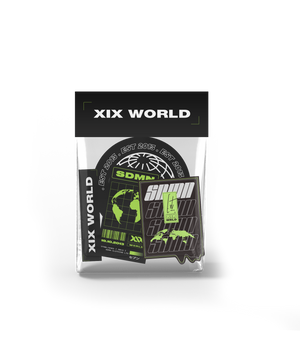 XIX WORLD Sticker Pack