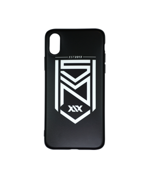 Crest Matte Black iPhone Case