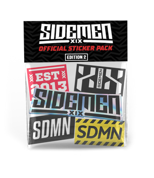 Sidemen Sticker Packs