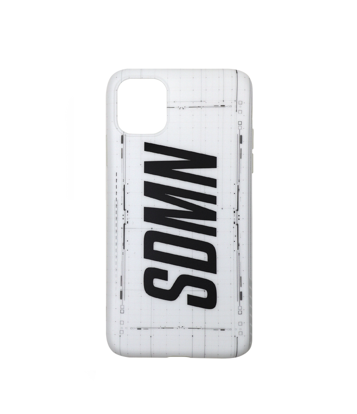 SDMN Classic White iPhone Case
