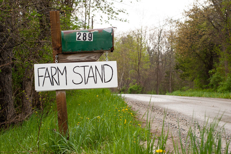 Farm Stand is Open! May 2016