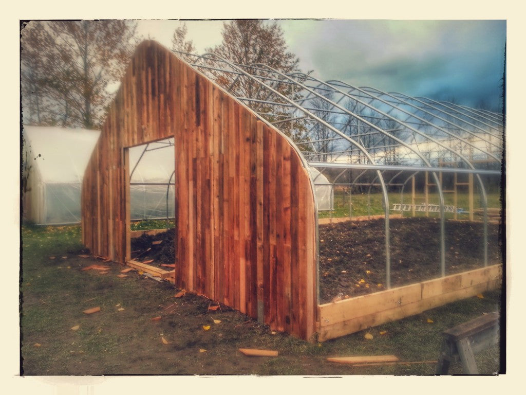 A Second Greenhouse, Fall 2014