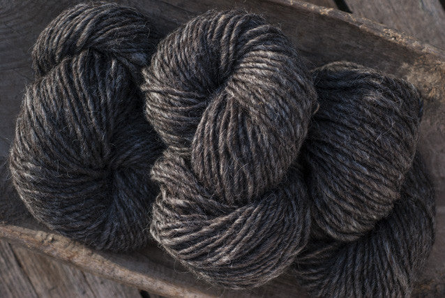 100% Natural Wool Dark Grey Lopi Yarn