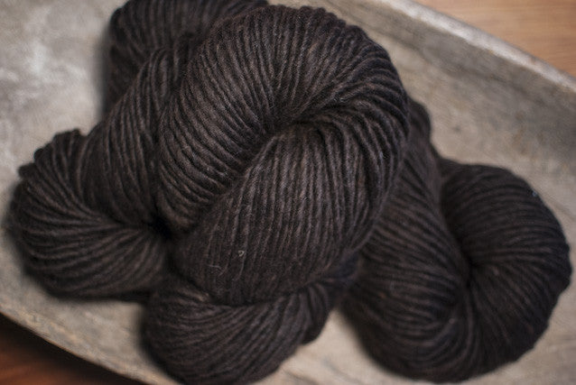 100% Natural Lambswool Black Lite-Lopi Yarn