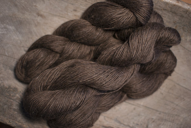 100% Natural Lambswool Brown Ultra Lite-Lopi Yarn
