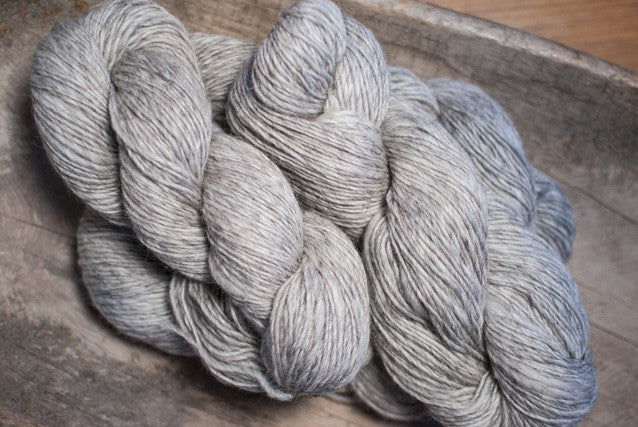 100% Natural Lambswool Grey Ultra Lite-Lopi Yarn