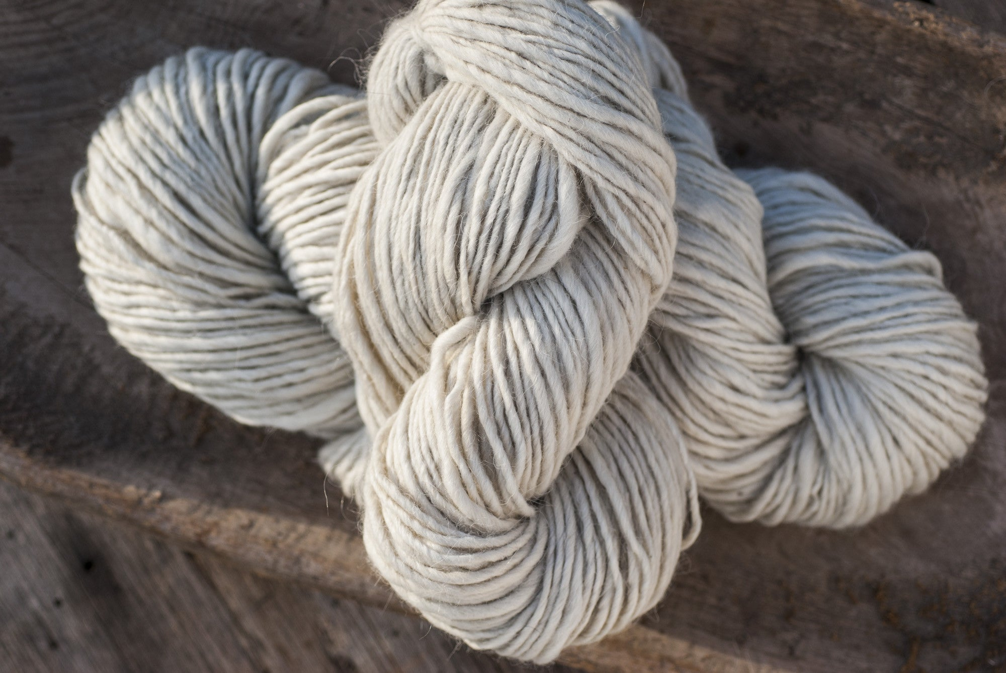 100% Natural Wool White Lopi Yarn