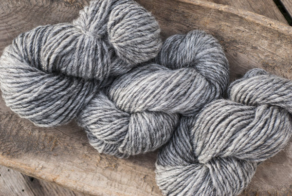 100% Natural Wool Grey Lite-Lopi Yarn