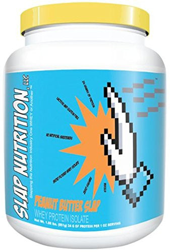 SLAP Nutrition Whey Protein Isolate Powder