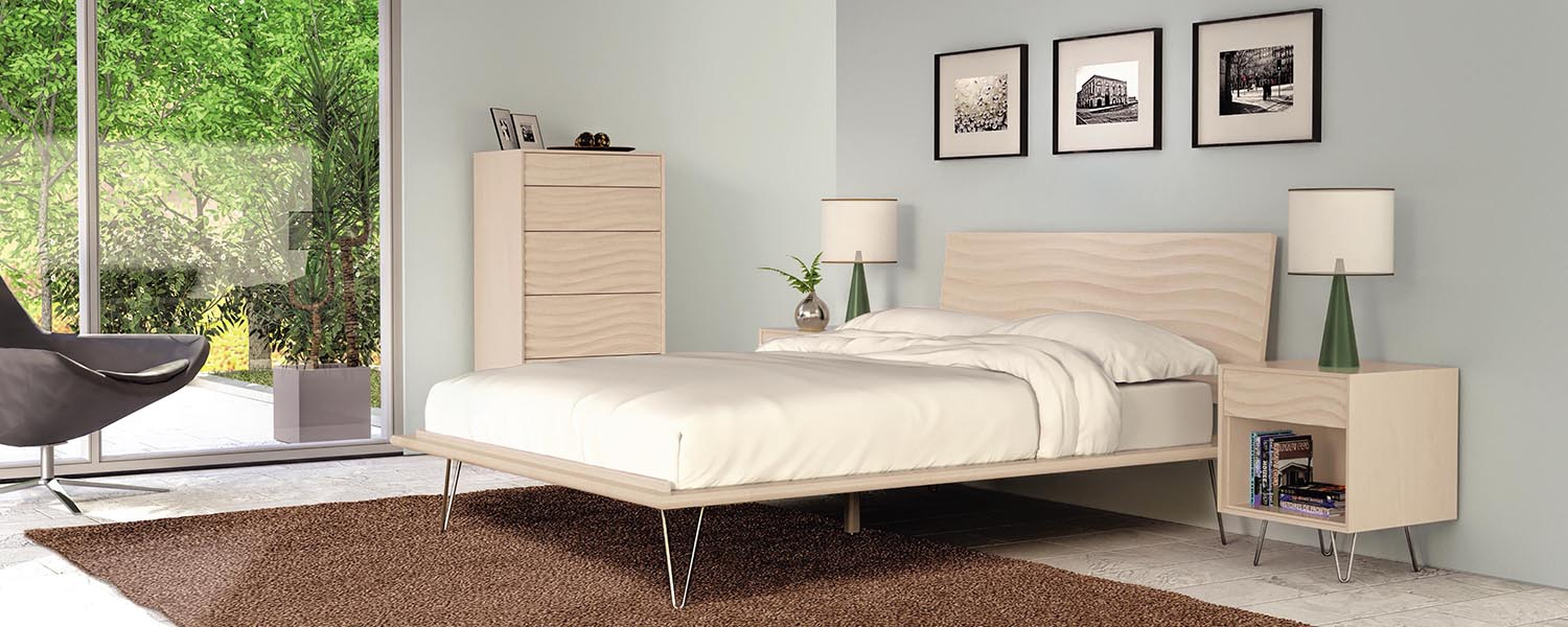 Nice The Wave Bedroom Set Is An Award Winning Display Of Modern Design And High  Tech American Manufacturing. The Wave Bedroom Set Marries The Power Of 5  Axis CNC ...