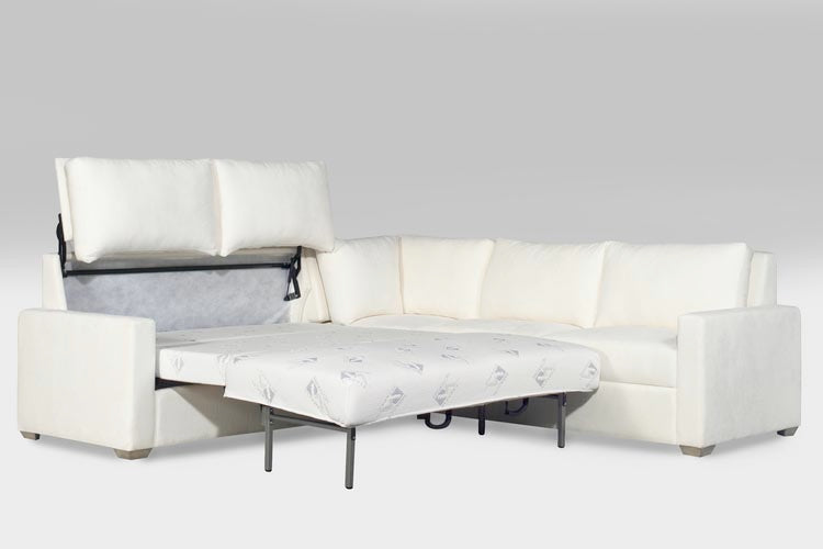 The Watson Queen Sleeper With A Square Corner And Three Seat Sofa Sectional.  A Few Sectionals To Consider: