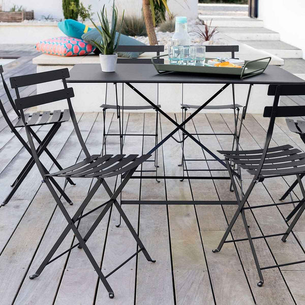 Bistro Metal Chair (Set of 2)