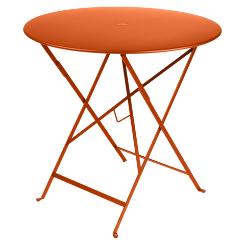 Bistro Round Table in Carrot