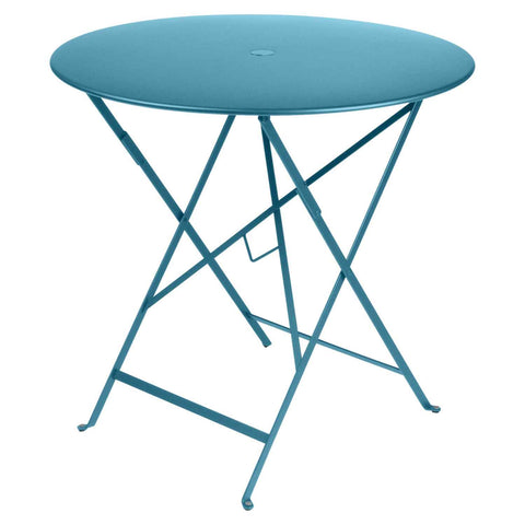 Bistro Round Table in Turquoise