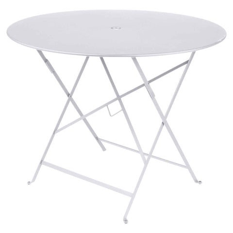 Bistro Round Table in Cotton White