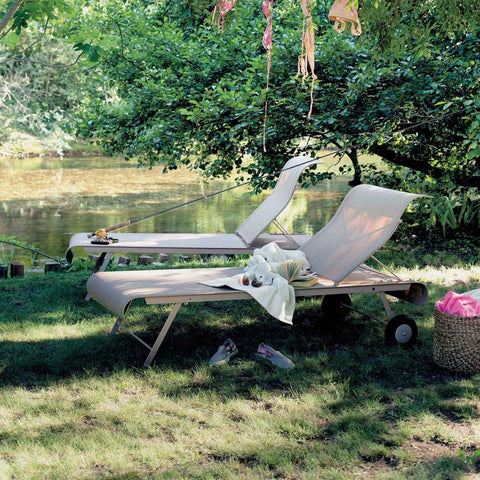 Dune Sunlounger - Urban Natural Home Furnishings.  Outdoor Sun Lounger, Fermob