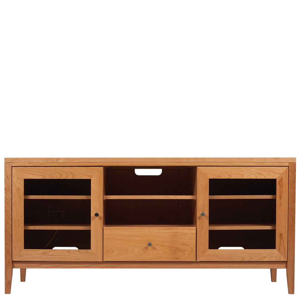 "Kingston 60"" TV Stand (1 Drawer, 2 Doors, and Open Center) by Spectra Wood"