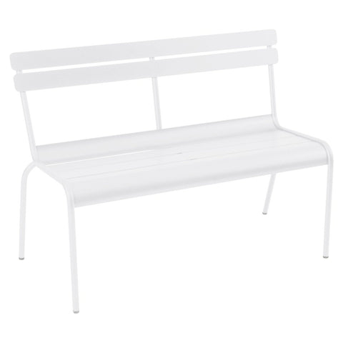 Luxembourg Bench with Backrest by Fermob